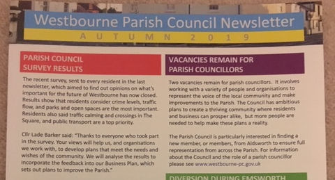 Latest Parish Council newsletter